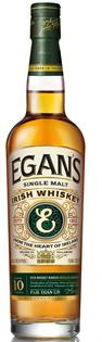 Egan's Irish Whiskey Single Malt 10 Year 750ml
